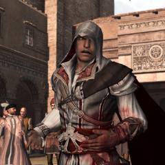 Ezios'adressantàlafoule