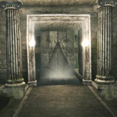 L'ouverture du tombeau de Leonius