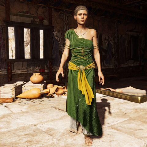 拉妮菈在被摧毁的俄诺玛俄斯之家