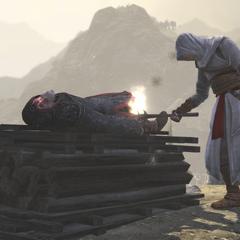阿泰尔焚烧阿尔莫林的尸体