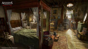 AC4 Great Inagua Manor Bedroom - Concept Art