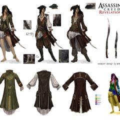 The Corsair's customization concepts