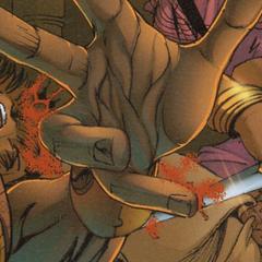 穆罕默德被莱拉刺伤