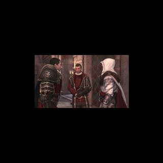 <b>Fabio Orsini</b> avec Ezio Auditore et Machiavelli