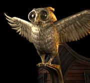 ACOD Athena's Owl Figurehead
