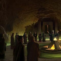 神教集会的原设图