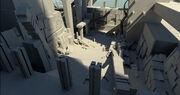 ACOD Petrified Temple Concept Model 2