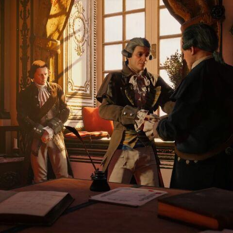Danton et Robespierre