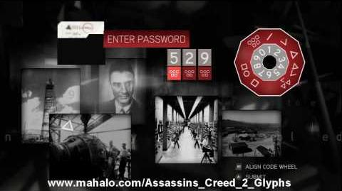 Assassin's Creed 2 Walkthrough - Glyph Puzzle 13 HD