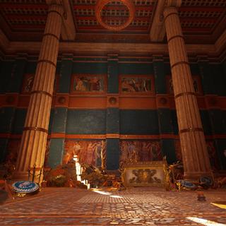 神庙的宝藏库