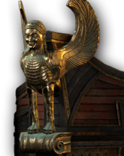 ACOD Sphinx Figurehead