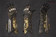 ACS Assassin Gauntlet Model