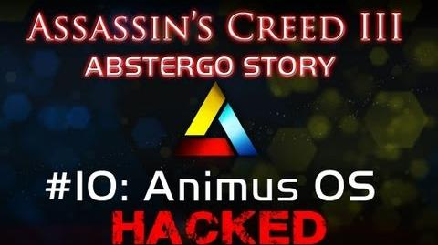 Assassin's Creed III Abstergo Story 10 Animus OS Hack