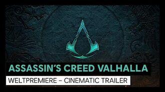"Assassin's Creed Valhalla ""Cinematic World Premiere Trailer"" Ubisoft DE"