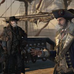 库克向谢伊与吉斯特告知法国人的进攻