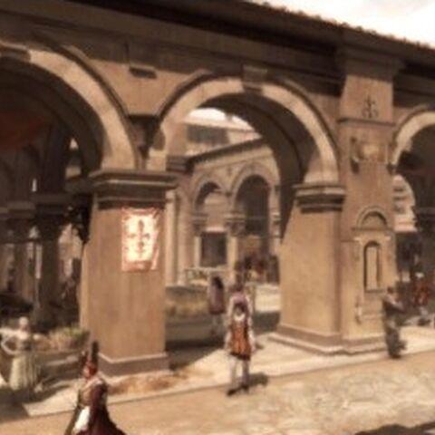 Le <b>Mercato Vecchio</b> dans la <a href=