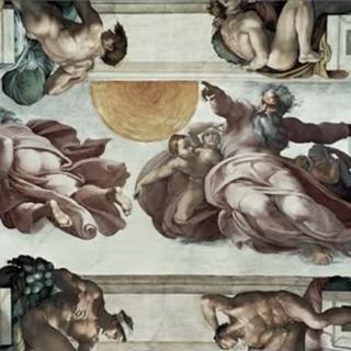 米开朗基罗的天花板壁画(部分)