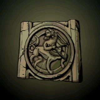 射手座 - 有著弓箭手将他的弓指向天蝎之心脏的星座。