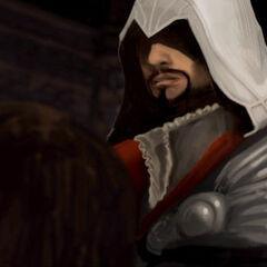 Ezio, before Octavian de Valois.