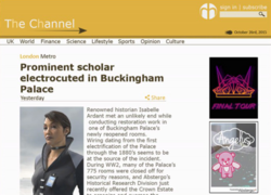 Isabelle Ardant - The Channel - Reports on Ardant's Death