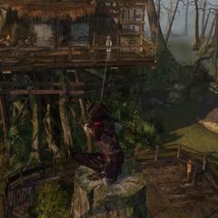 艾芙琳来到阿加特的树屋