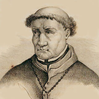 A painting of Torquemada