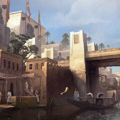 孟斐斯運河的原設圖