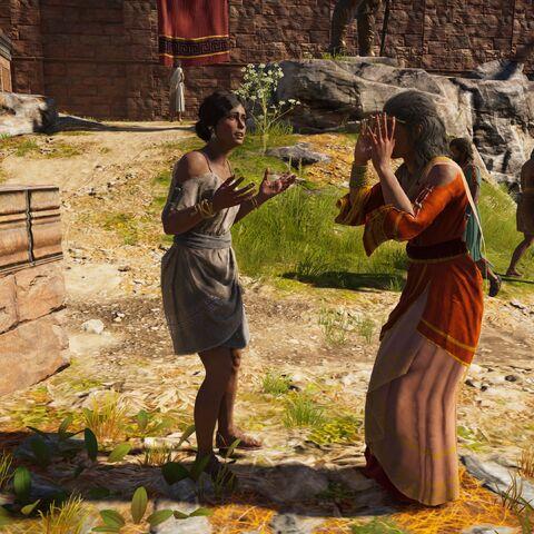 佐菲拉斯与母亲争吵