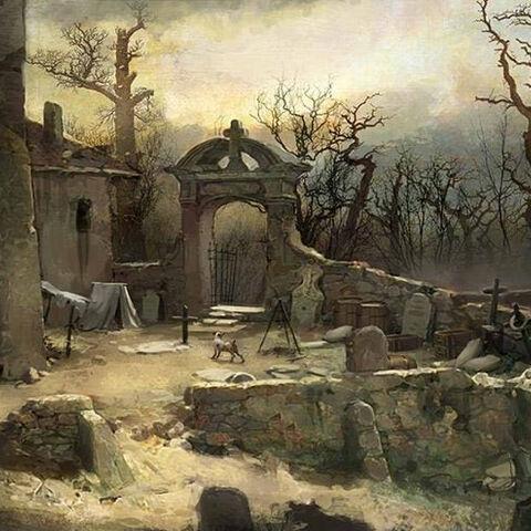 一座圣但尼的公墓