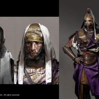 阿波罗多洛斯和皇家侍卫的原设图