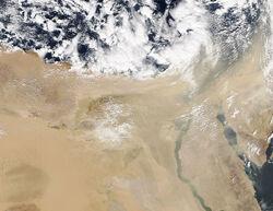 DT - Dust storm Egypt