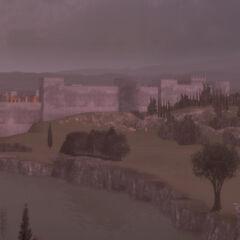 黄昏罗马全景