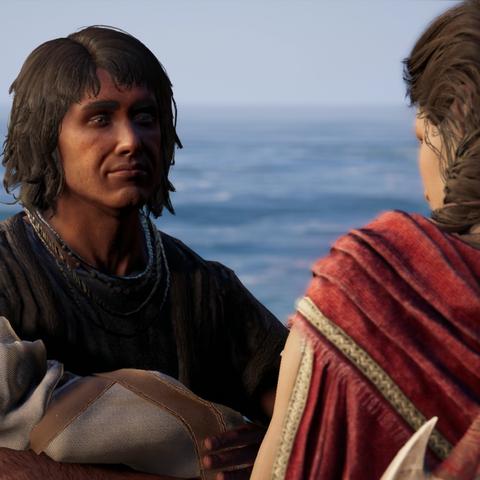 大流士二世将艾匹底欧斯还给卡珊德拉