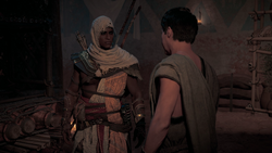 ACO Conflicts of Interest - Bayek given Sefetu's location