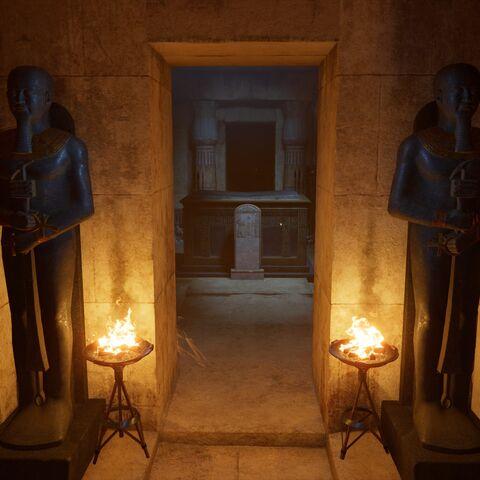 卡夫拉的墓室