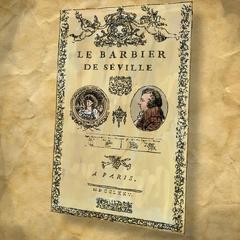 L'affiche du <i>Barbier de Séville</i>