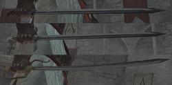 Altaïr Épée Évolution