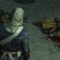 爱德华发现了一些死掉的守卫