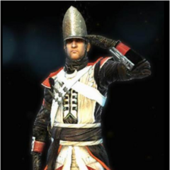 The Hessian's Grenadier costume