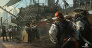 Assassin's Creed IV Black Flag concept art 5