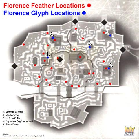 佛罗伦萨符文地图