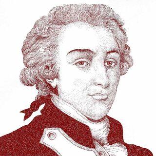 拉法耶特侯爵的一幅画像