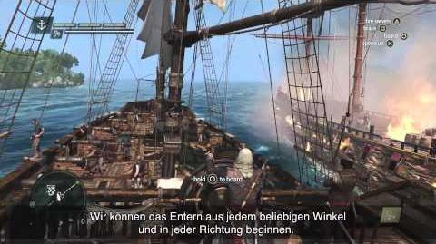 Piraten Gameplay Erlebnis- und Seeschlacht- Entdeckungstrailer - Assassin's Creed IV Black Flag DE