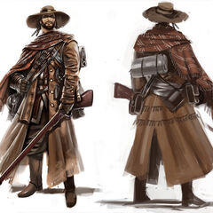 Concept art of the Sharpshooter