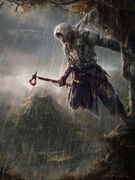 Assassin's Creed 3 illustrations-Connor befall Cozumel by max qin