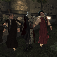 Ezio tuant les deux derniers conjurés