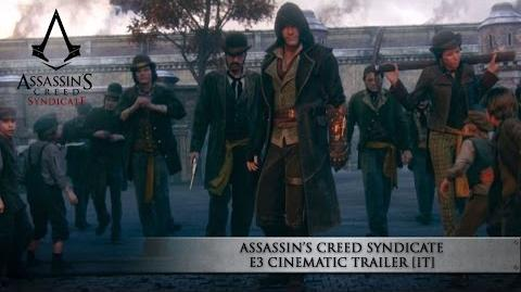 Assassin's Creed Syndicate E3 Cinematic Trailer IT