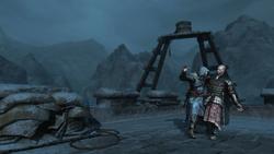 Ezio zabija Leandrosa (by Kubar906)