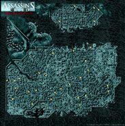 Mappa Costantinopoli