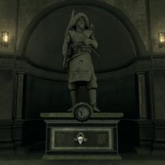呼兰噶尔的雕像
